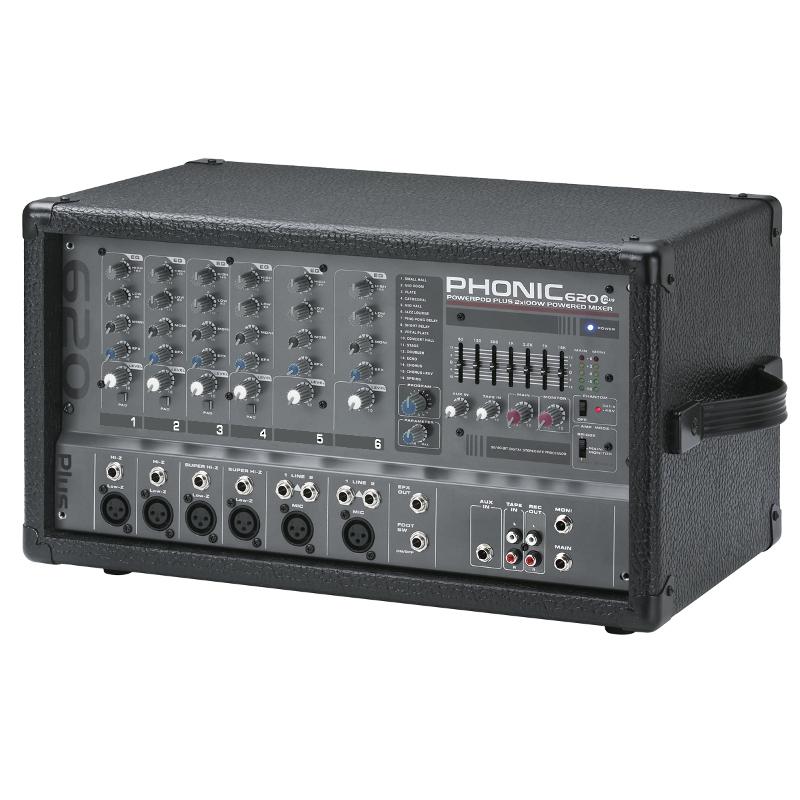 Микшерные пульты PHONIC POWERPOD 620 PLUS T1