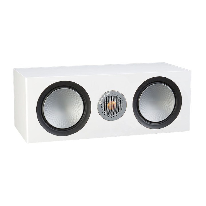 Акустика центрального канала Monitor Audio Silver 6G C150 white satin акустика центрального канала vandersteen vcc 2 cherry