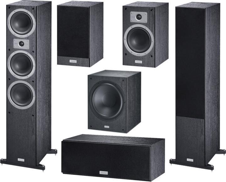Комплекты акустики Magnat Tempus 77 + 33 + Center 22 + SW 300 A black акустика центрального канала sonus faber principia center black