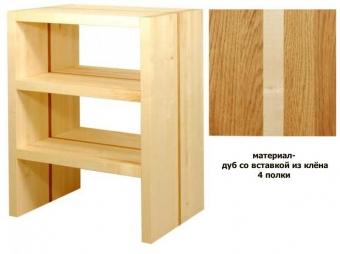Basis 600 oak with maple line (4 shelves) PULT.ru 144000.000