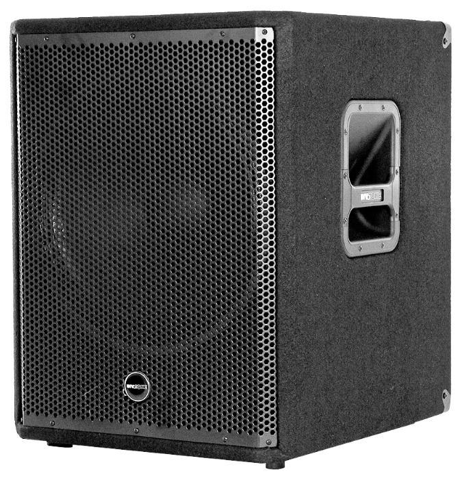 AS15SA - InvotoneКонцертные сабвуферы<br>Активный сабвуфер с 15&amp;amp;quot; вуфером и 2,5&amp;amp;quot; звуковой катушкой Мощность: 350W RMS Частотный диапазон: 42Hz-125Hz Максимальный уровень звукового давления на расстоянии 1 метра 121db SPL (cont.)/124db SPL (peak) Встроенный аналоговый кроссовер с HPF 80 Hz На задней панели: L- R input, (combo/XLR-F)/L-R Link (2XLR-M)/ L- R Link (2-XLR-M)/ L- R output (2 XLR-M), ручка громкости, переключатель фазы, индикаторы состояния Размеры: 638*602*542mm. Вес: 26кг.Активный сабвуфер.Корпус прямоугольной формы...<br>