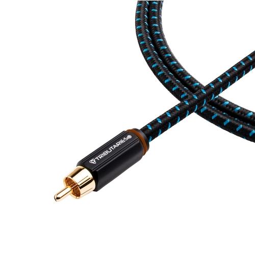 Кабели межблочные аудио Tributaries 4 Subwoofer 6.0m (4S-060D) evk71 060d