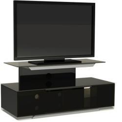 Подставки под телевизоры и Hi-Fi MD 552 Planima черный/дымчатое стекло стойка metaldesign md 552 planima черный дымчатое стекло