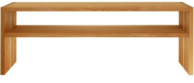 Lowboard 07 1600mm oak with maple line (2 shelves) PULT.ru 144000.000