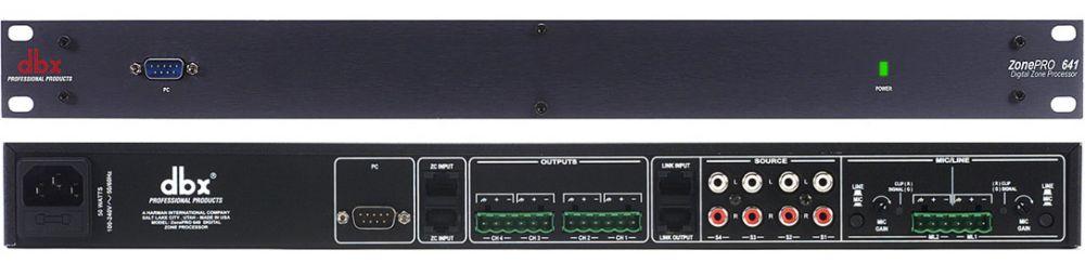 Приборы обработки звука DBX