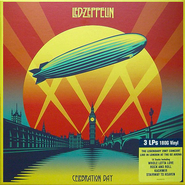 Виниловые пластинки Led Zeppelin CELEBRATION DAY (Box set/180 Gram) led zeppelin the complete story whole lotta love special collectors edition
