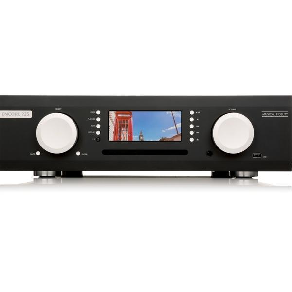 Интегральные стереоусилители Musical Fidelity M6 Encore 225 Streaming Music System black