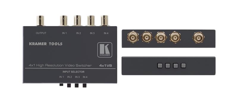Оборудование для аудио/видео коммутации Kramer 4x1VB