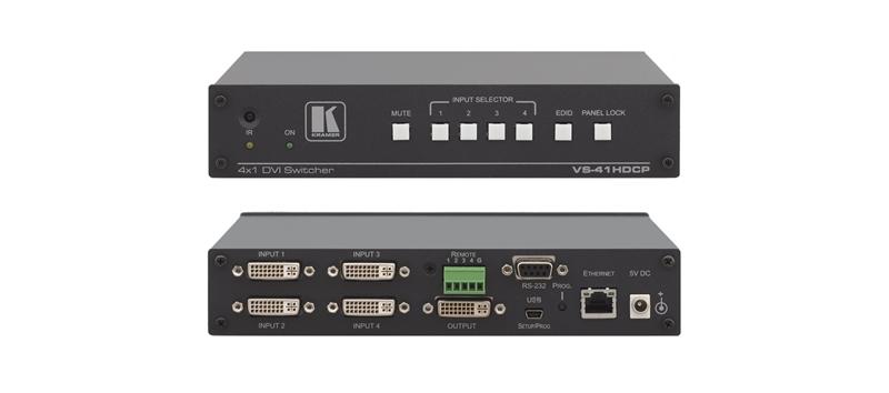 Оборудование для аудио/видео коммутации Kramer VS-41HDCP