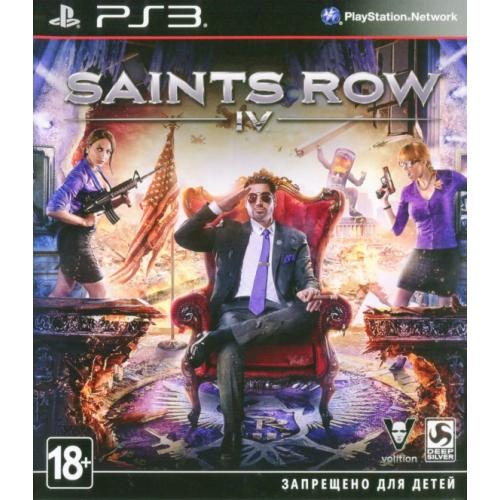 Игры для игровых приставок Sony Игра для PS3 Saints Row IV saints row 4 super dangerous wad wad edition
