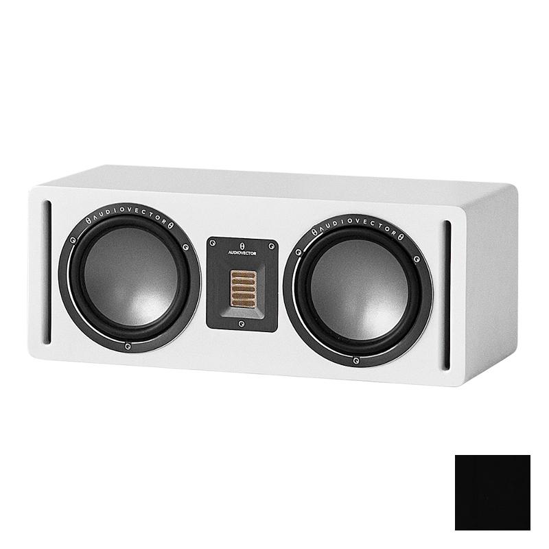 Акустика центрального канала Audiovector QR C black high gloss
