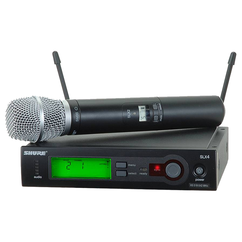 Радиосистемы Shure SLX24E/SM86 P4 702 - 726 MHz