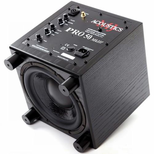 Сабвуферы MJ Acoustics Pro 50 Mk III black ash