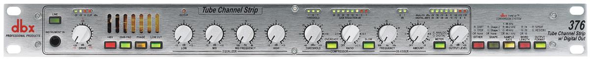 Микрофонные предусилители DBX, арт: 128012 - Микрофонные предусилители