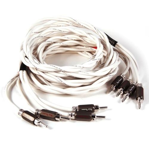 Акустические кабели Black Rhodium Samba 2.5m banan white