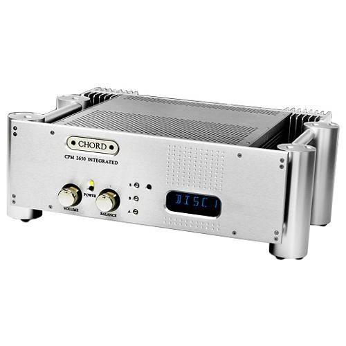 Интегральные стереоусилители Chord Electronics CPM 2650 silver