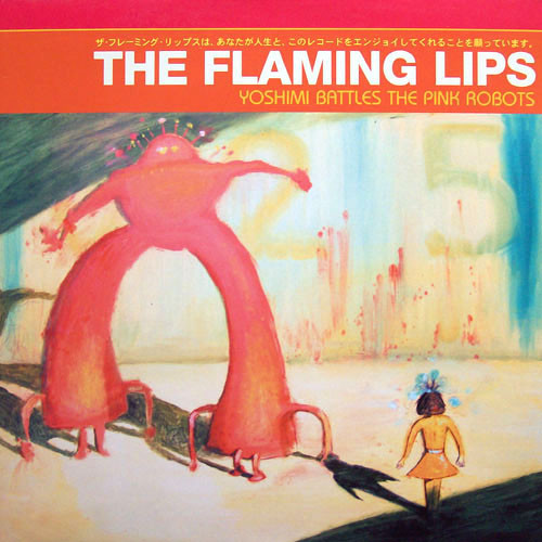 Виниловые пластинки The Flaming Lips YOSHIMI BATTLES THE PINK ROBOT (Red vinyl) flaming lips flaming lips this here giraffe ep