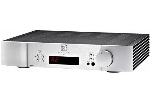 Интегральные стереоусилители Sim Audio Moon Neo 340i silver  sim audio moon neo 400m black silver