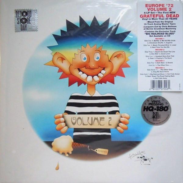 Виниловые пластинки Grateful Dead EUROPE '72 VOL. 2