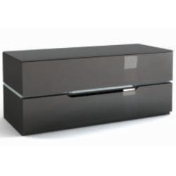 Подставки под телевизоры и Hi-Fi MD 555.1224 Planima черный/дымчатое стекло стойка metaldesign md 552 planima черный дымчатое стекло