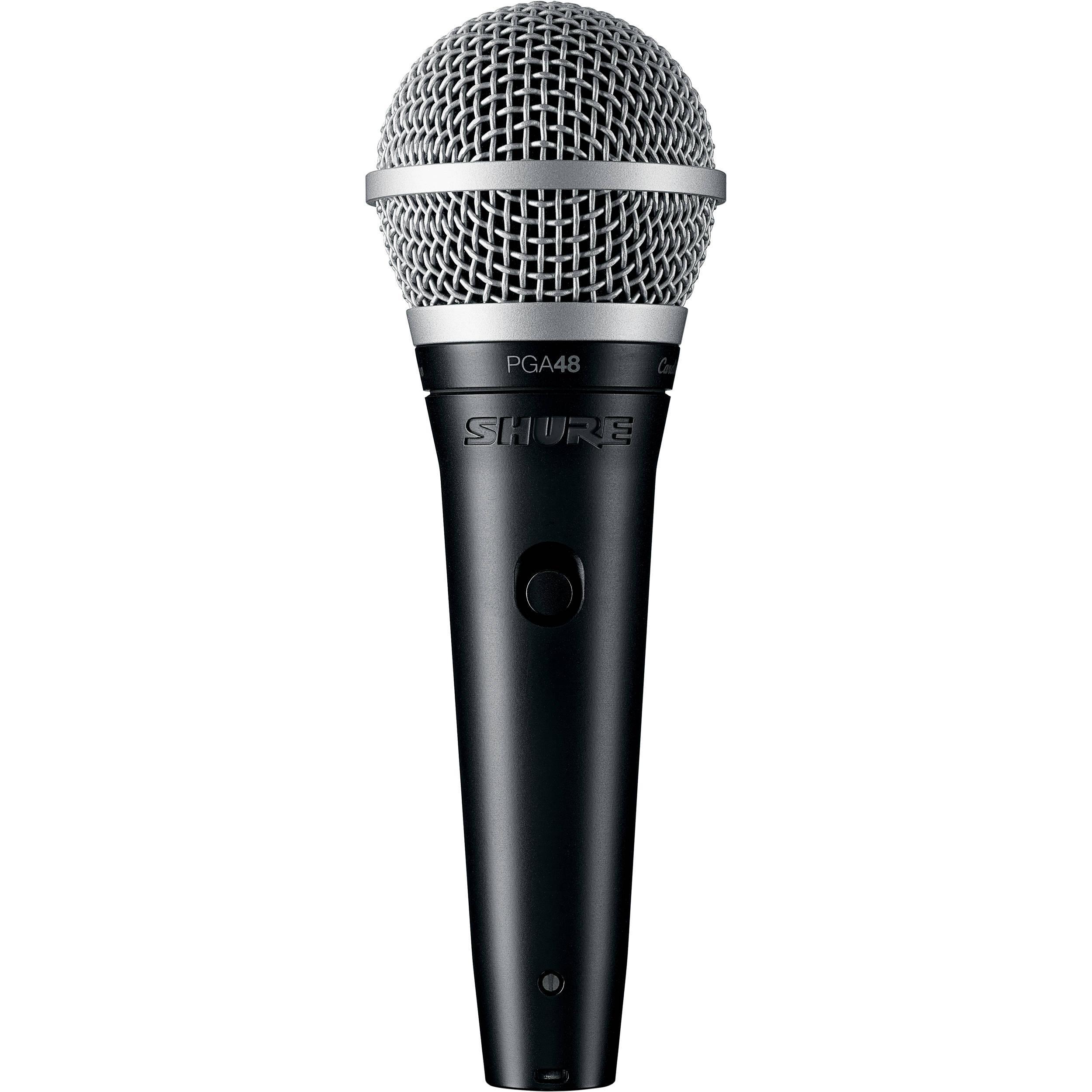 Микрофоны Shure PGA48-XLR-E shure pga58 xlr e вокальный микрофон black