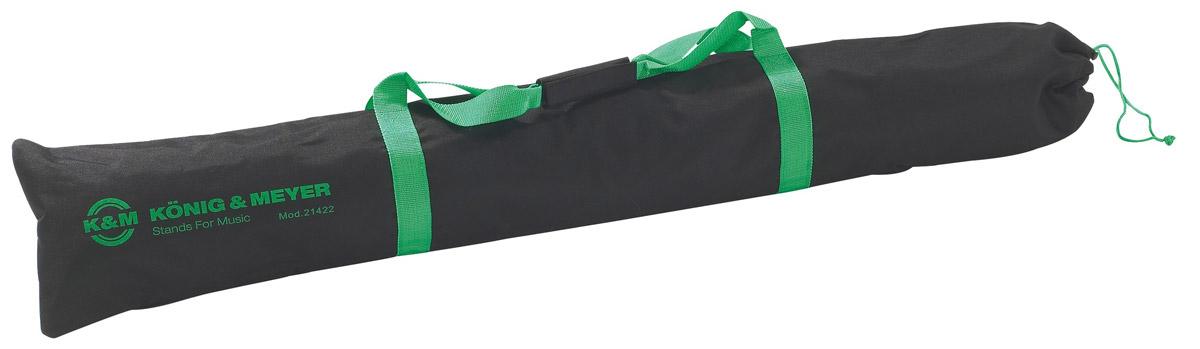 Кейсы и чехлы для акустики K&M 21422-000-00 чехол для двух стоек 21420, W 0,45 kg L 1290 mm, чёрный нейлон чемодан тележка santa fe 73 л 3177 24 бордо