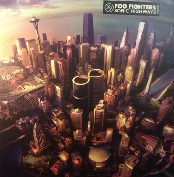 Виниловые пластинки Foo Fighters SONIC HIGHWAYS (180 Gram)