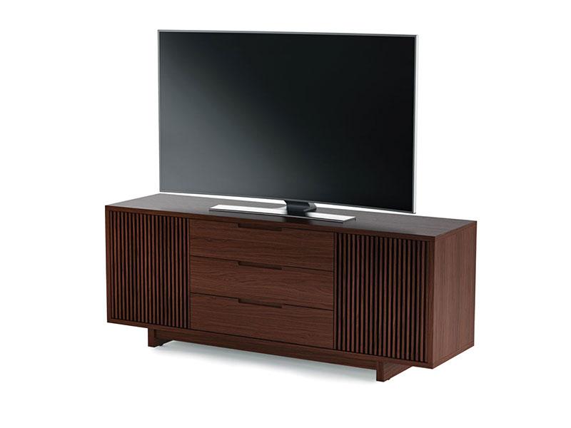 Подставки под телевизоры и Hi-Fi BDI Vertica 8558 walnut