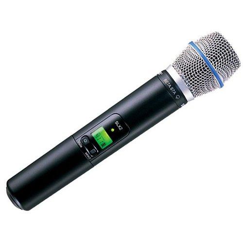 Микрофоны Shure SLX2/BETA87A L4E