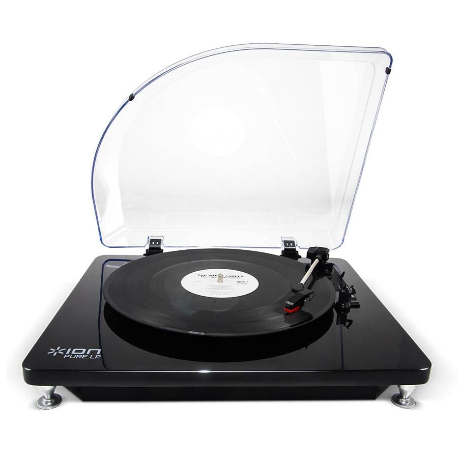 Проигрыватель винила ION Audio Pure LP black ion audio pure lp белый