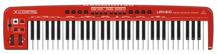 Грувбоксы и компактные синтезаторы Behringer UMX610