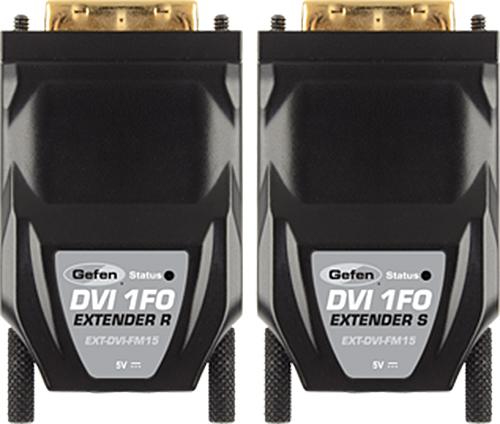 Мультирум контроллеры и усилители Gefen EXT-DVI-FM15