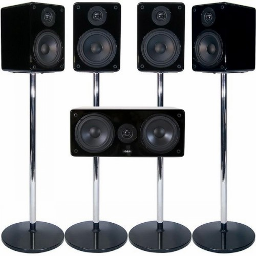 Комплекты акустики MJ Acoustics XENO 5.0 System MK2 black lacquer комплекты акустики kef t105 system black