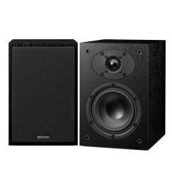 Акустические системы Denon - DenonПолочная акустика<br>Denon SC-F109 новая акустическая система, унаследовавшая разработанную инженерами DENON концепцию CX и сопутствующие технологические решения. Является результатом программы настройки параметров аудио по европейским стандартам, осуществляемой совместно с компанией European sound design.Denon SC-F109 состоит из 12-см низкочастотного громкоговорителя с коническим диффузором, изготовляемым по двухслойной D.D.L. технологии, и внутренним вентиляционным отверстием и 2,5-см высокочастотного громкоговорителя с...<br>