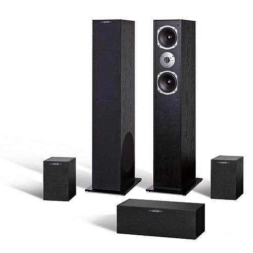 Комплекты акустики Quadral Ferrum 7000 black high gloss
