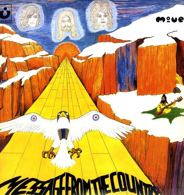 Виниловые пластинки The Move MESSAGE FROM THE COUNTRY (180 Gram) дорожка для декорирования стола schaefer 40x140 см 07725 211