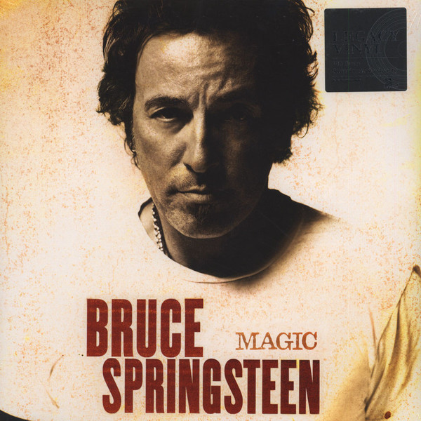 Виниловые пластинки Bruce Springsteen MAGIC (180 Gram) bruce tulgan work this way