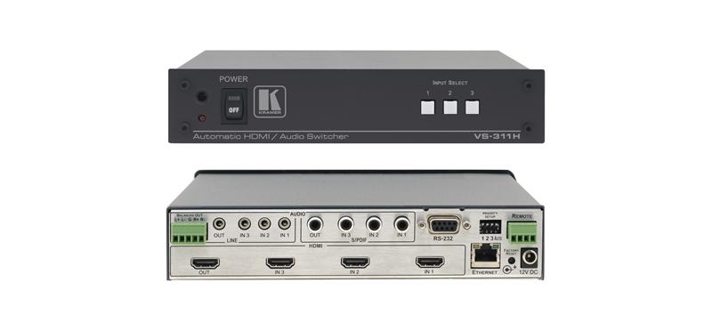 Оборудование для аудио/видео коммутации Kramer VS-311H