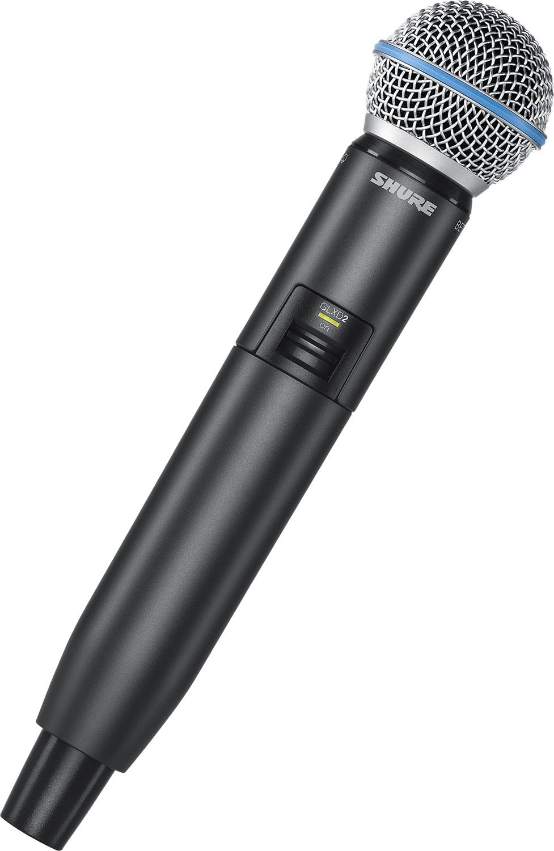 Микрофоны Shure GLXD2/SM86 Z2 2.4 GHz