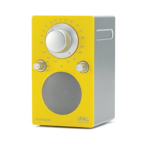 Радиоприемники Tivoli Audio iPAL High Gloss Yellow/Silver (PALIPALGY)