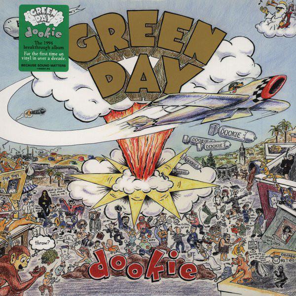 Виниловые пластинки Green Day DOOKIE (180 Gram)