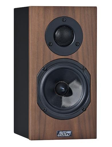 Полочная акустика ASW Opus M 14 Walnut Tree/Eggshell Black