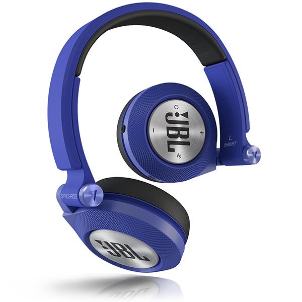 Наушники JBL E40BT синие jbl synchros e40bt