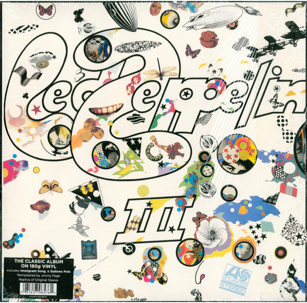 Виниловые пластинки Led Zeppelin LED ZEPPELIN III (Remastered/180 Gram) led zeppelin led zeppelin original recording remastered 3