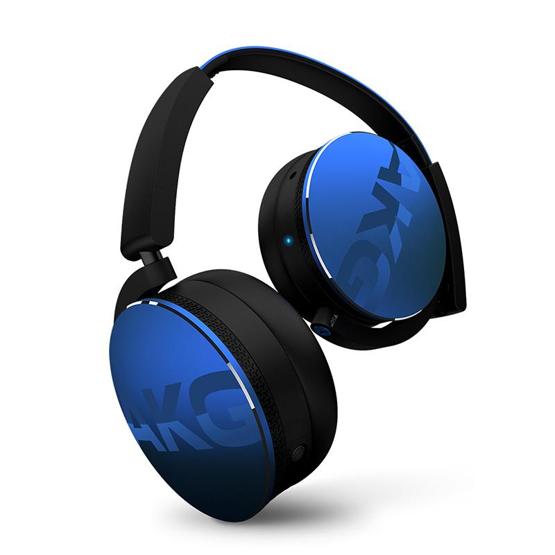 Наушники AKG Y50BT blue наушники беспроводные akg y50bt черные с микрофоном y45btblk