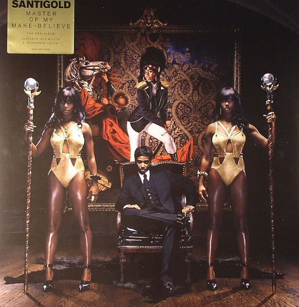 Виниловые пластинки Santigold MASTER OF MY MAKE-BELIEVE selected homme куртка