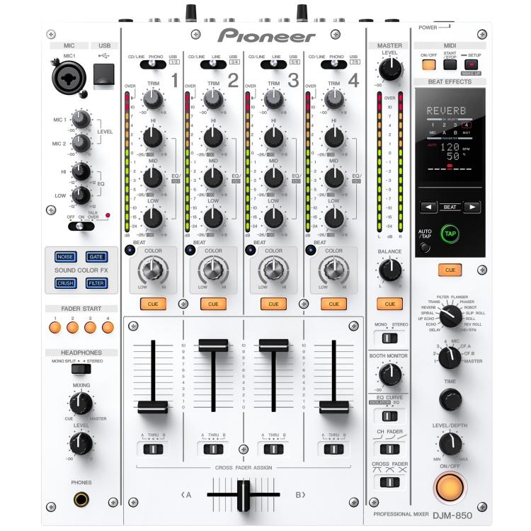 DJ-микшеры Pioneer DJM850-W