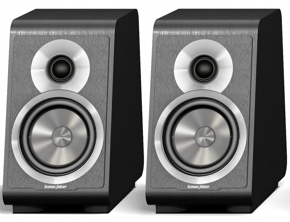 Полочная акустика Sonus Faber Principia 1 (black) напольная акустика sonus faber principia 5 black