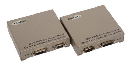 Мультирум контроллеры и усилители Gefen EXT-DVIRS232-1FO