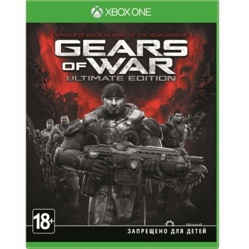 Игры для игровых приставок Microsoft Игра для Xbox One Gears of War: Ultimate Edition (18+) аксессуары для игровых приставок microsoft xbox one stereo adapter
